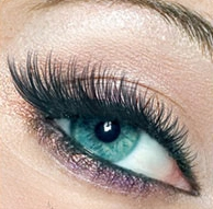 What are lash extensions made of?